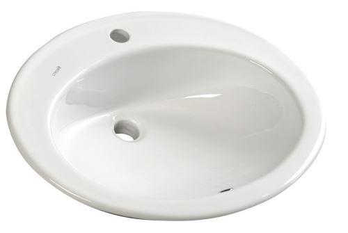 Sapho TROPICO keramické umyvadlo 58x46cm, zápustné