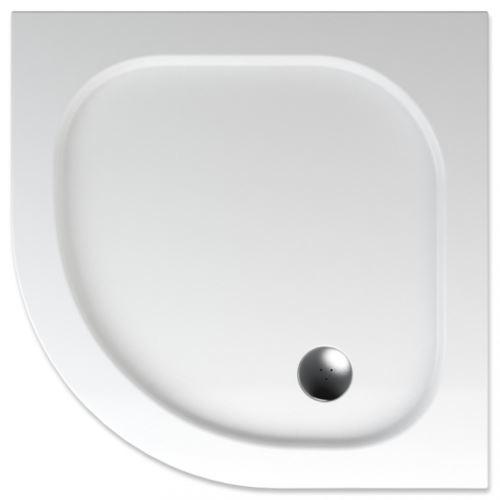 TEIKO Sprchová vanička čtvrtkruhová PELEUS 90 (V131090N32T06001)