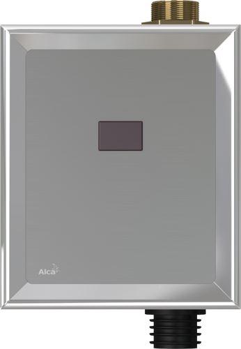 ALCAPLAST Automatický splachovač WC chrom, 12V - napájení ze sítě (ASP3)